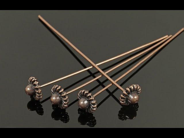 Пины, колечки из проволоки для изготовления бижутерии