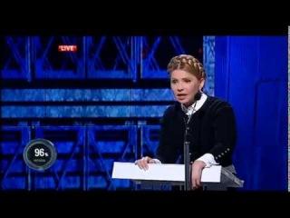 Юлія Тимошенко. Шустер LIVE. 03.04.2015