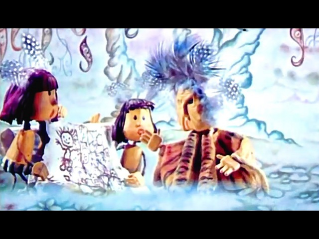 Советские мультфильм для детей Как Было Написано Первое Письмо (1984)