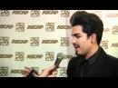 Adam Lambert Talks on the Red Carpet at ASCAP Pop Music Awards
