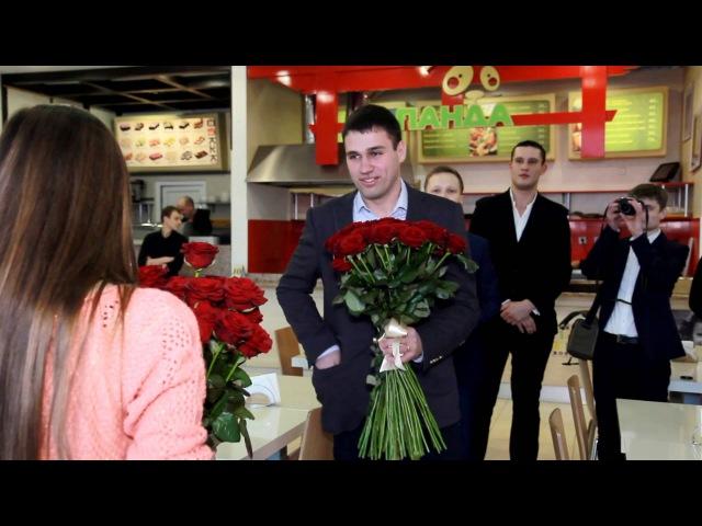 Самое красивое предложение руки и сердца 10 02 2014 Одесса