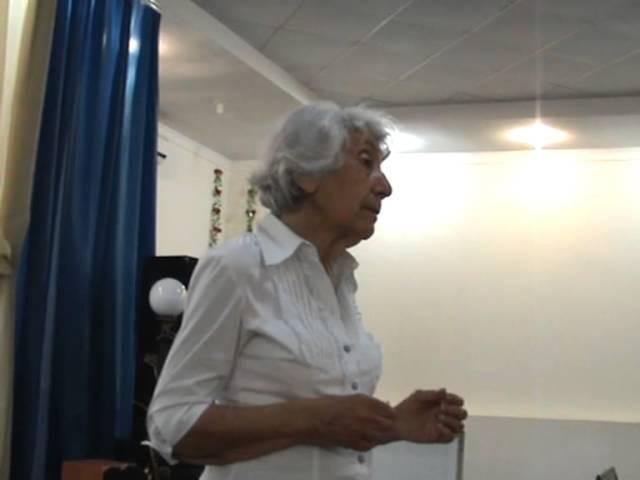 Марва Оганян 2013 лекция о сыроедении