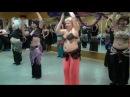 """""""Time Fitness"""" 24.12.11г. - Восточные танцы - Танец под барабаны"""