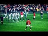 Лучшие голы со штрафных Криштиану Роналду за Манчестер Юнайтед / Топ 10 голов