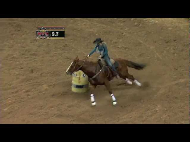 Highlights of 11 NFR Barrel Racing