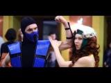 Jessica Rabbit vs Rogue. FAP 2015 cosplay festival