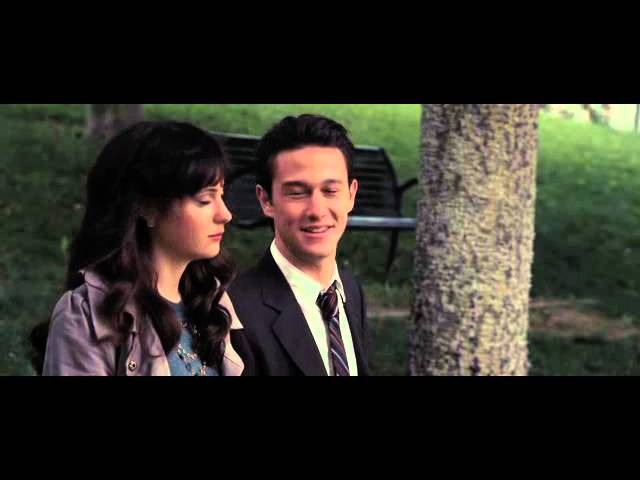 500 Days of Summer - Tom and Summer on a Bench