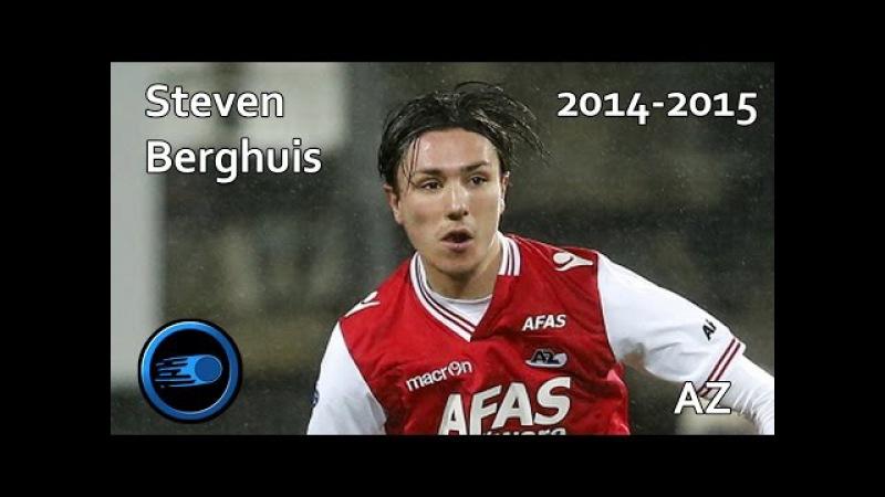 Steven Berghuis   Skills, Goals Assists   2014-2015   AZ Alkmaar (HD)