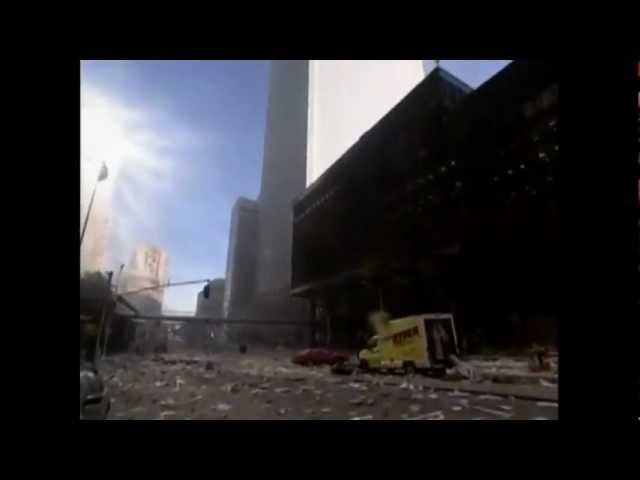911 Time Zero unseen footage WTC (WARNING Age-restricted video)