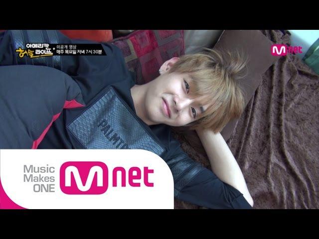 [BTS의 아메리칸허슬라이프] Ep.4 미공개영상 잠에서 덜 깬 뷔, 비몽사몽 잠주정!