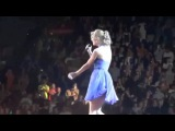 Taylor Wardrobe Malfunction on Taylor Swift's Concert HQ 15072011