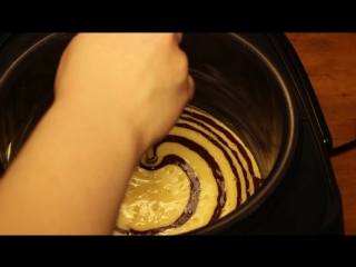 Пирог зебра в мультиварке редмонд рецепт