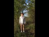 Лебёдушка - С.  Есенин. Ева совсем растерялась...Не судите строго, к конкурсу всё отработаем ..)))