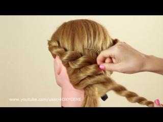 Плетение из жгутов. Twisted braiding