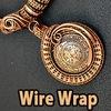"""""""RUKODEL"""" - Wire wrap. Vikinq Knit. Бижутерия"""