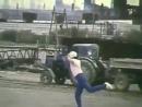 Алгинский танец в противогазе 1989 год