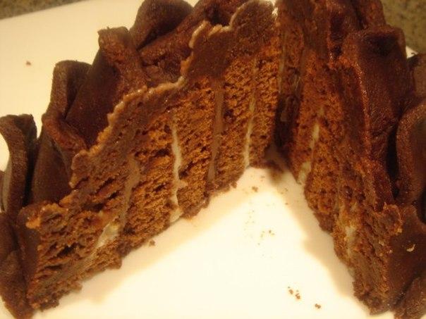Торт шишка на сметане рецепт с фото