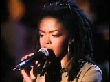 Lauryn Hill and Ziggy Marley - Redemption Song ( LIVE )