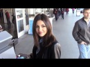 Victoria Justice Answers Questions About Her And Ariana Grande At LAX