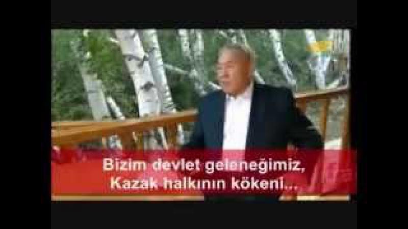 Nursultan Nazarbayev'in Putin'e cevabı: Biz Hunlar'ın Göktürkler'in AltınOrda'nın torunlarıyız
