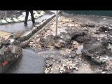 Вода с полей затопила Красноярский тракт в Омске