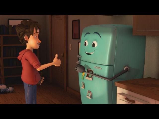 Мультфильм - любимый холодильник