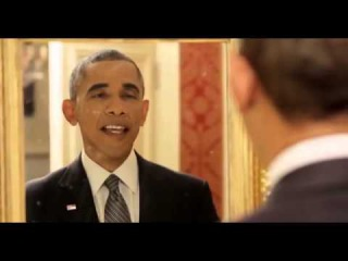 Hilarious video reveals what President Obama does when he thinks no-one else is around