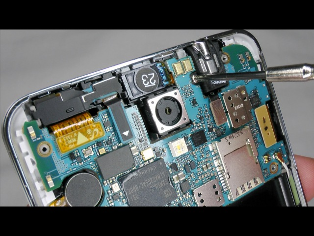 Galaxy Note 3 Disassembly Teardown Assembly - Digitizer Screen Case Replacement