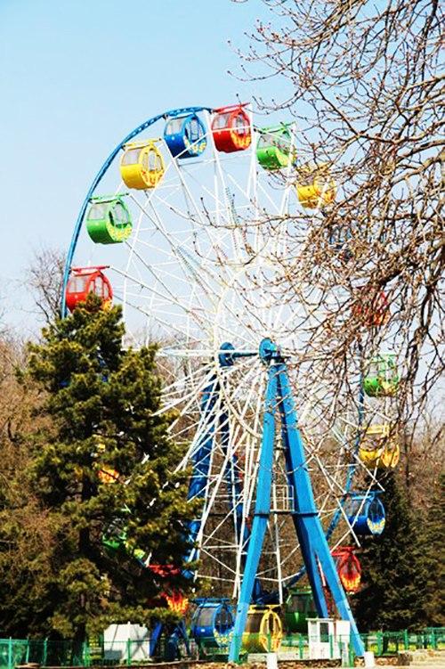 Анонс мероприятий в парке имени Горького в городе Таганроге к 9 мая