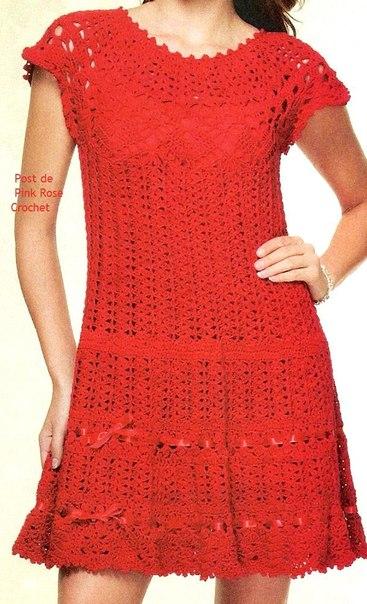 Красное платье (3 фото) - картинка