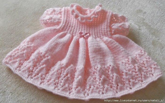 Детский вязаный свитер для девочки схема фото 805