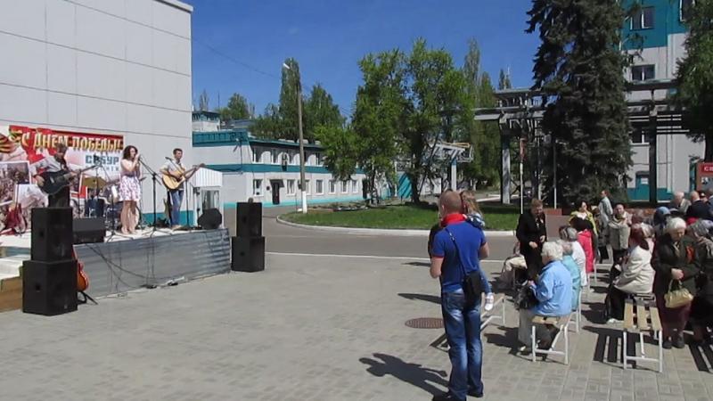 Мочалова Ю., Дунаев М. И., Дунаев Р. - Настасья. (Концерт посвящённый Дню Победы. 08.05.2015)