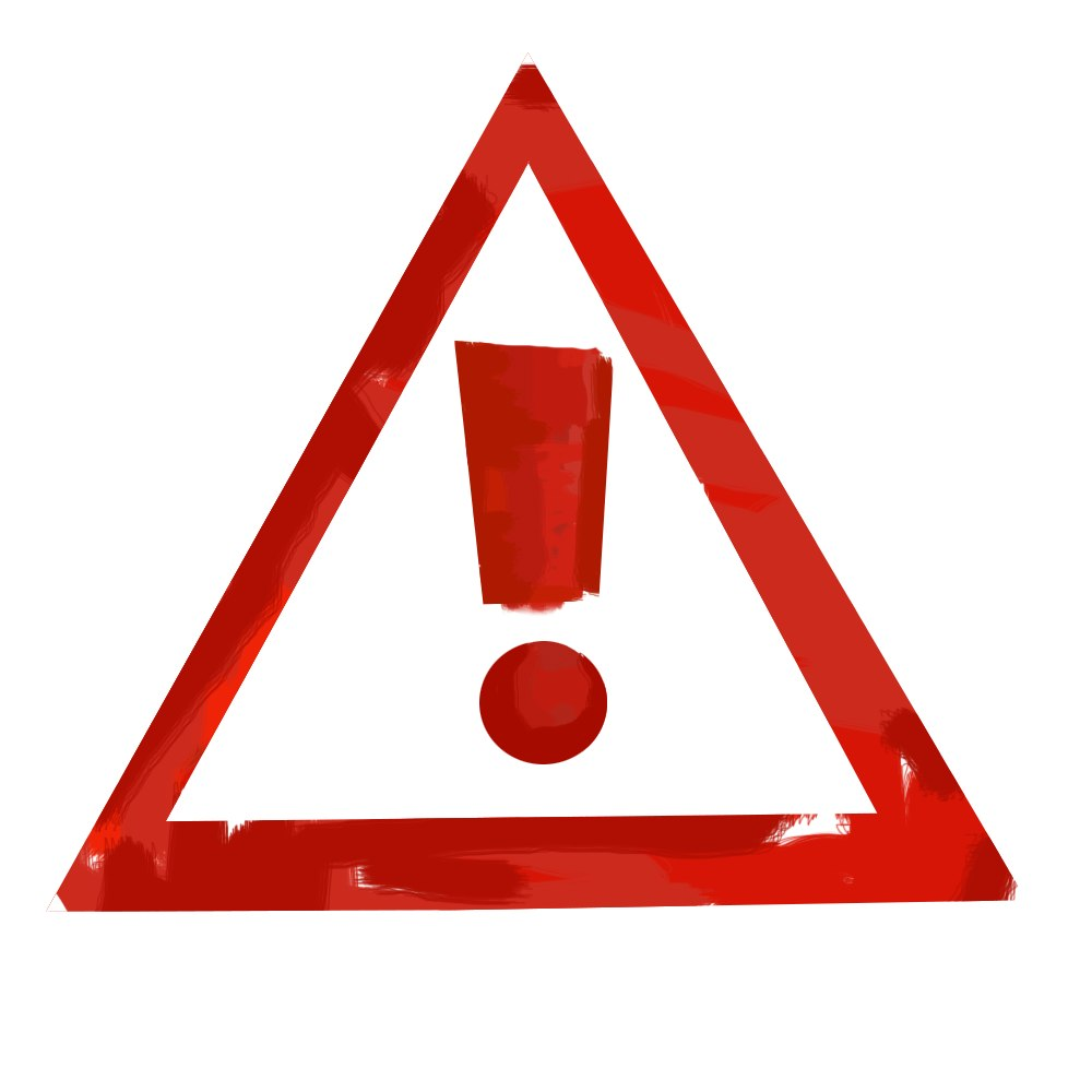 красный восклицательный знак в треугольнике скачать картику изображение бесплатно - лицензия