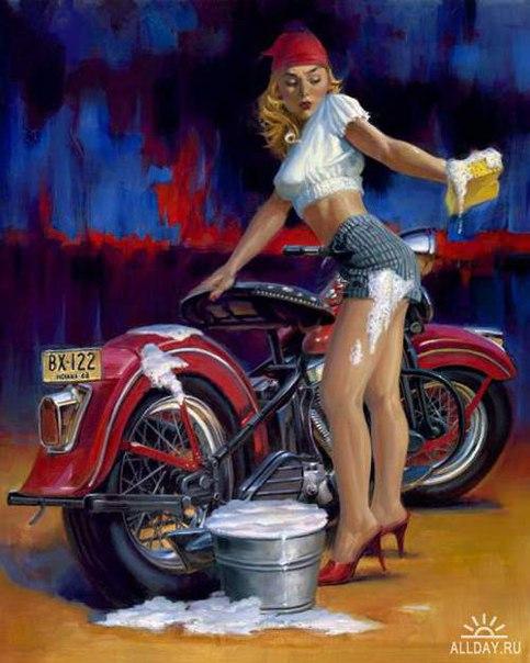 мотоцикл 50х годов