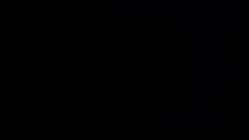 Травертиновый водопад ночью... Потрясающее зрелище!!