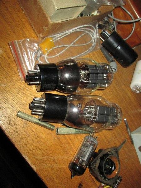 детали для ламповых схем.