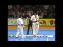 新極真会 THE 9th WORLD KARATE CHAMPIONSHIP 4st round6 Kuno vs Imbras SHINKYOKUSHINKAI KARATE
