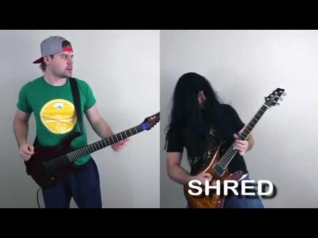 Djent VS Shred