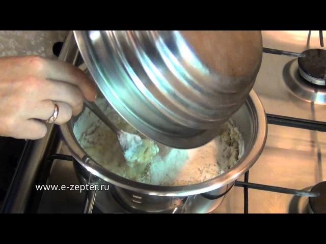 Как приготовить Заварное тесто / How to make Choux pastry ♡ English subtitles