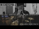 Infant Annihilator CUNTCRUSHER COVER By SATANICMOTHERFUCKER feat Mark Mironov on drums