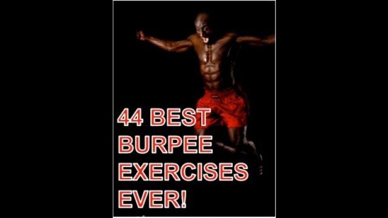 44 Best Burpee Exercises Ever