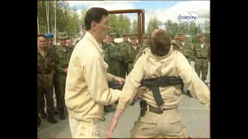 Шокирующие кадры безконтактного боя спецназа