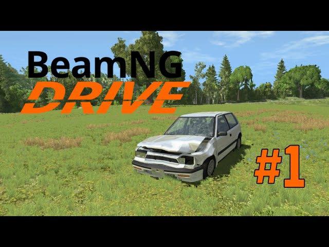 Beam NG drive Обзор игры и знакомство. Прохождение сценариев 1