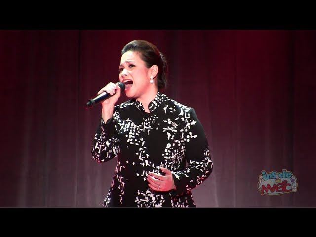 Lea Salonga (voice of Mulan) performs Reflection at the 2011 D23 Expo
