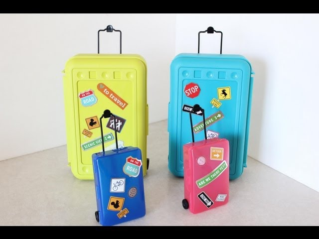 How to Make Doll Luggage | Suitcase | Plus Darbie Show Beginnings