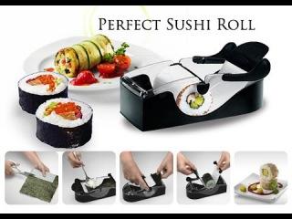 Машинка для приготовления суши и роллов Perfect Roll (Прибор для быстрого приготовления вкусных роллов, суши мейкер Leifheit Perfect Roll Sushi) 0