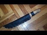 Чехол для мачете своими руками. How to make a machete holster.