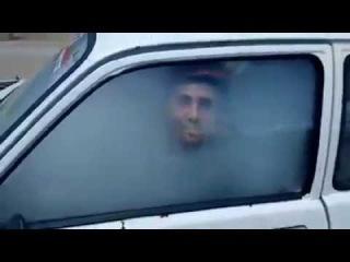 Abordagem ao carro cheio de fumaça! - Approach the car full of smoke!