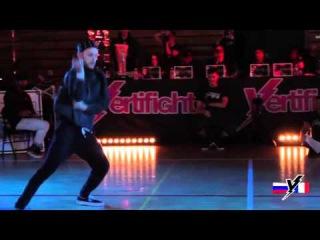 VERTIFIGHT WORLD 2015 | 1/4 Final 1vs1 | Valek (RUSSIA) vs. Miel (FRANCE)