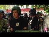 Молодежные отряды охраны правопорядка потренировались со спецназовцами